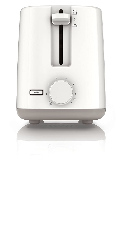 Philips HD2595/00 - Tostadora Daily Collection, 2 ranuras, 4 funciones en 1 (recalentar/descongelar/cancelar/7 niveles de tostado): Amazon.es: Hogar