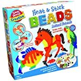Small World Toys Creative - Heat and Stick Beads Animal Friends Kit