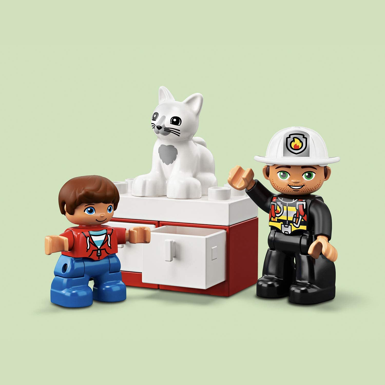 21 Pi/èces  10901 2 Ans et Plus LEGO/® DUPLO/® Rescue Le camion de pompiers Jeu de construction