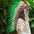The Sounding Iron Headdress | Native American Indian Inspired | CHOOSE COLOR
