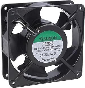 Fixapart CY 201/A - Ventilador para Caja de Ordenador (220-240 V, 50-60 Hz, 2250-2900 RPM), Negro: Amazon.es: Informática