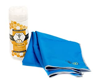 BEECOOL Cooling Towel – Doctor Endorsed Cooling Towels – Premium Microfiber Material Keeps You Cool Under Heat And Stress – Perfect Towel For Golf, Outdoor Activities And Hot Flashes – 100% Value For Your Money