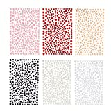DECORA 1944 Pieces Acrylic Flat Back Jewelry Half Pearl Stickers with Adhesive