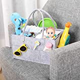Large Baby Diaper Caddy Organizer for Changing Table...