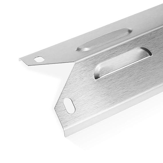 Amazon.com: Uniflasy - Parrilla de acero inoxidable para ...