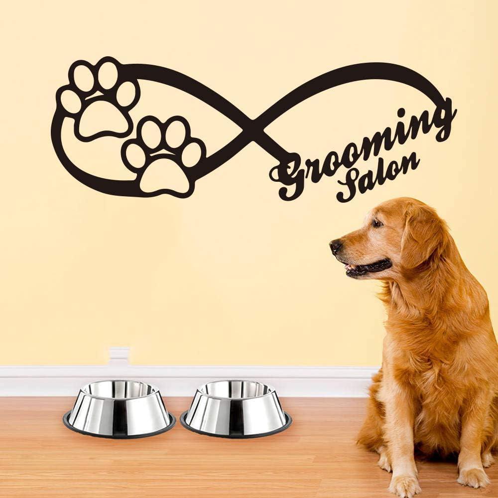 hllhpc Signo Infinito Dog Wall Tatuajes de Ventana Animales Pet ...