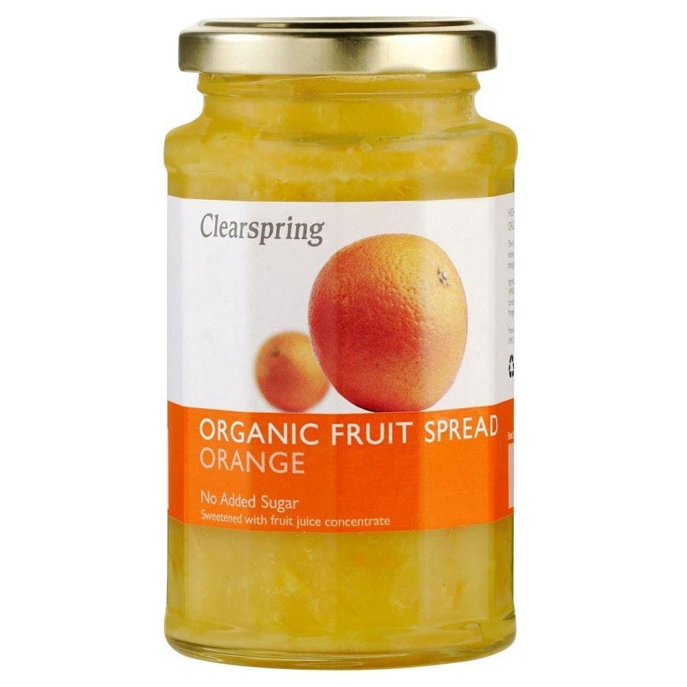 Clearspring Organic Orange Fruit Spread (290g) - Pack of 2
