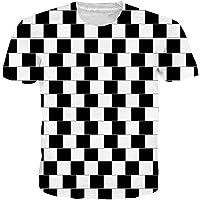 Camiseta Metoiul Black White Vertigo Hypnotic Print T