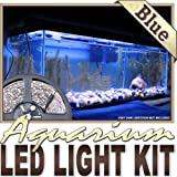 Biltek 6' ft Blue Aquarium Reef 455nm Blue Remote