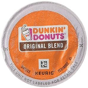 Dunkin' Donuts K-Cups Keurig Coffee Brewers, Original, 24 Count