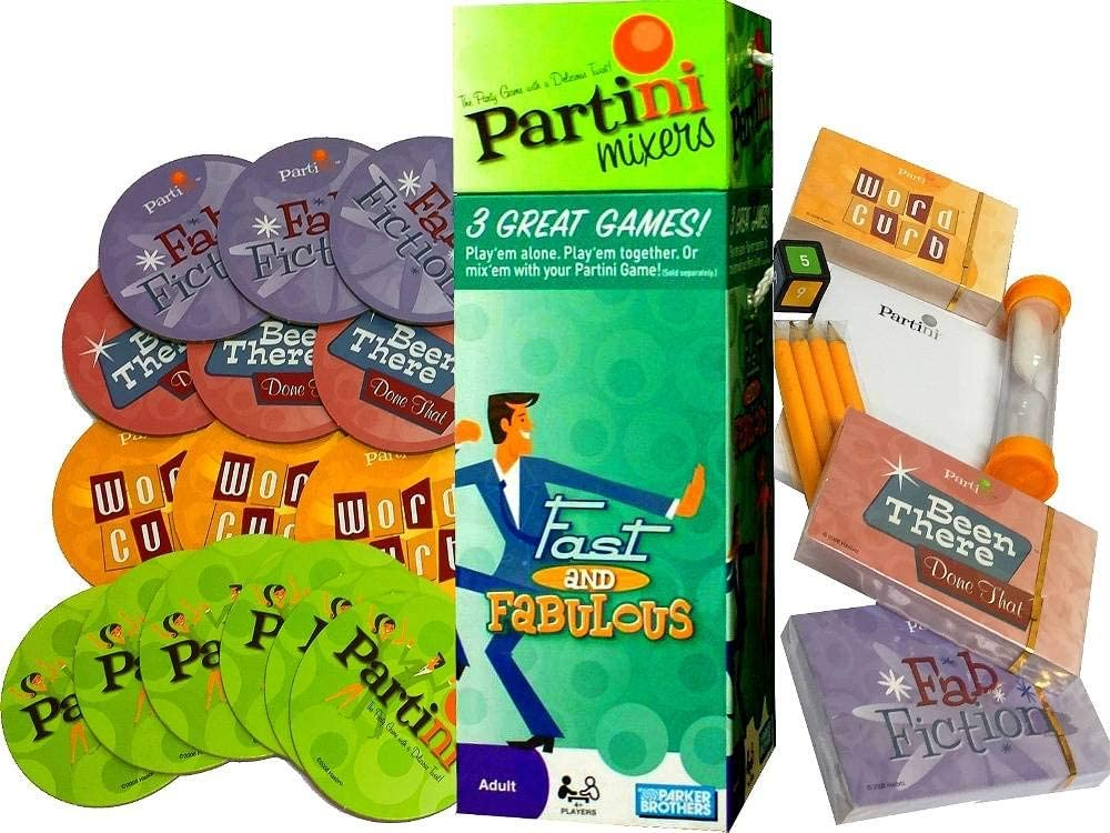 Parker Brothers Partini Mixers - Fast and Fabulous: Amazon.es: Juguetes y juegos