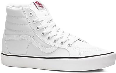 Sk8-hi Lite Plus, Unisex-Erwachsene Hohe Sneakers, Schwarz (Suede/Canvas/Black/White), 36 EU Vans