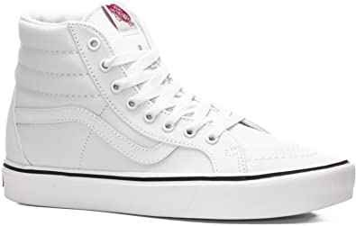 642b95b5db Vans Sk8-Hi Lite Sneakers (Canvas) True White Mens 12