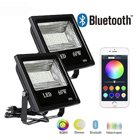 ZTJ-Lighting RGB LED Foco de Colores De 30W Al Aire Libre ...