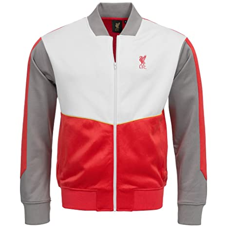 Liverpool FC Majestic Retro Track Top Full Zip chaqueta 1acb5fd0afd53