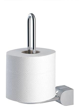 Badaccessoires Tiger Cria Toilettenpapierhalter mit Klappe Chrom Matt Set Serie
