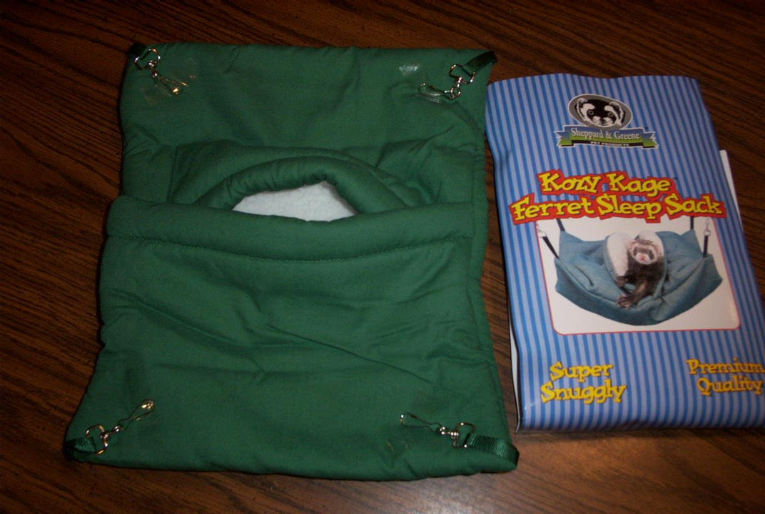 Sheppard & Greene Ferret Cage Bed Hammock Sleep Sack