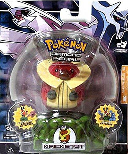 Jakks Pacific Pokemon Diamond & Pearl Battle Link Series 5 Kricketot Action Figure (Link Pacific Jakks)