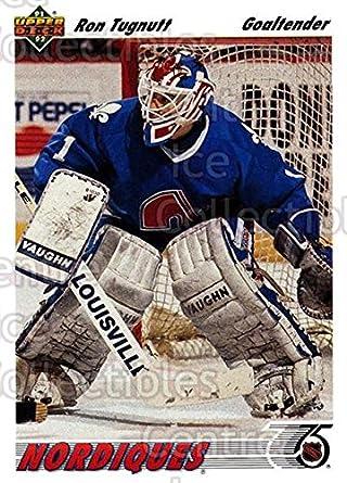 Amazon.com  (CI) Ron Tugnutt Hockey Card 1991-92 Upper Deck (base ... 0e7846d11