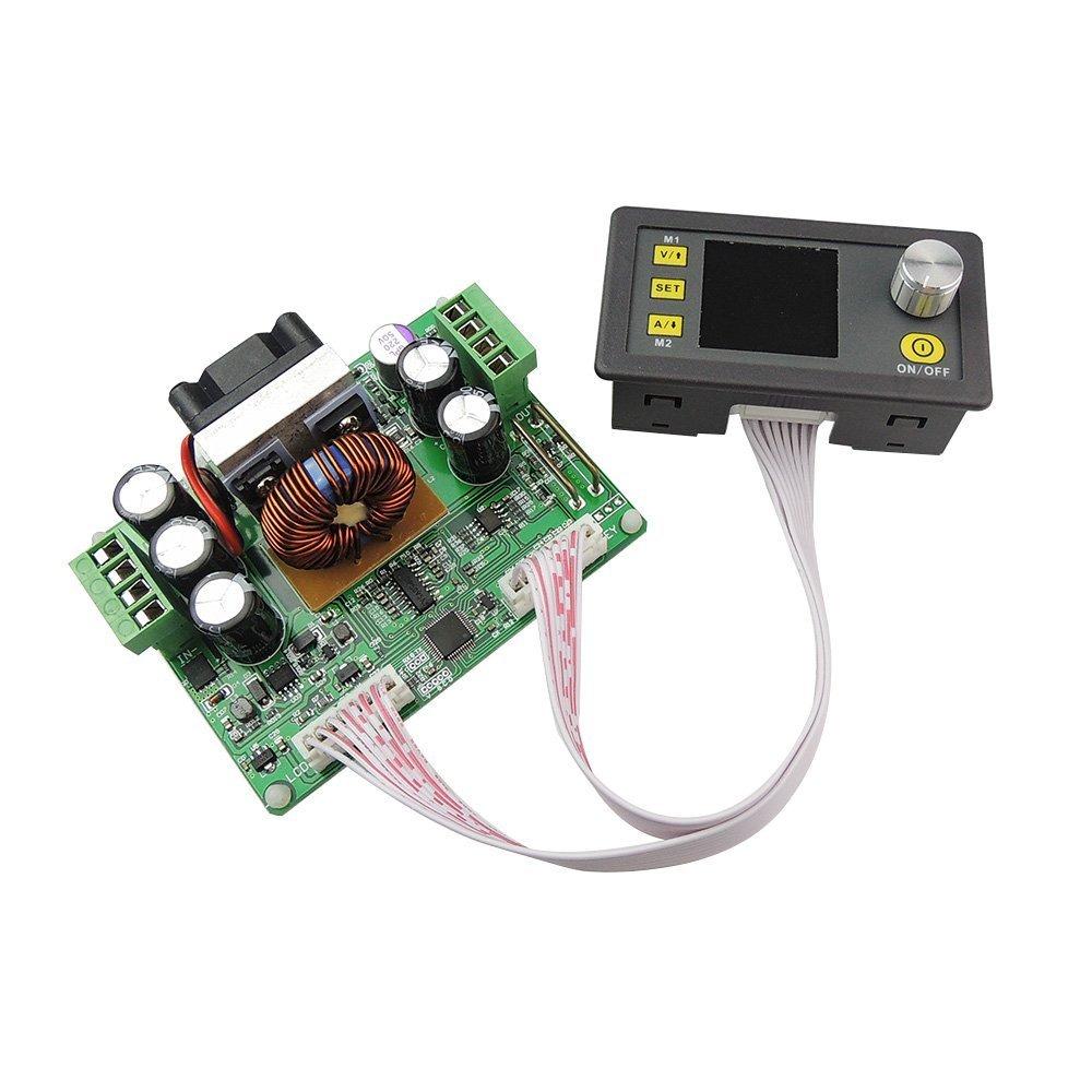 uniquegoods DPS5015 DC 50V 15A Constant Voltage Current Step-down Programmable Power Supply Module Adjustable Regulator Ammeter Display