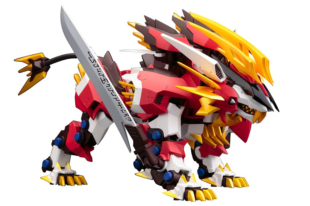 ZOIDS ZA Hayate Liger 1 100 Scale ABS Action Figure