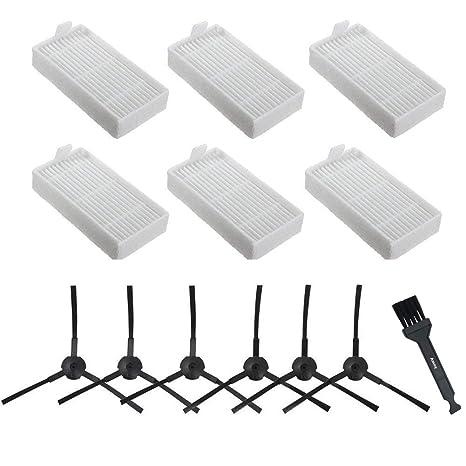 Amoy Recambio de Paños lavables Compatible Conga Excellence y ILIFE V3 V3s V5 V5s V5s pro accesorios de consumibles de robotic aspiradora,paquete de 3: ...