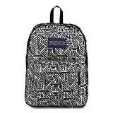JanSport High Stakes Backpack - White Geo Flock