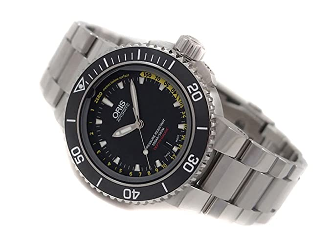 ab7513adb Image Unavailable. Image not available for. Colour: Oris Diving Aquis Depth  Gauge
