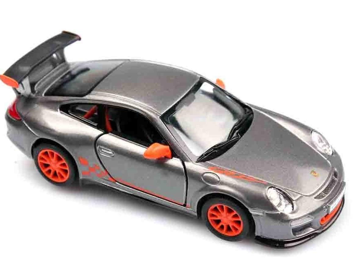 Porsche 911 GT3 RS 1 36 Sclae Diecast Model Car GREY