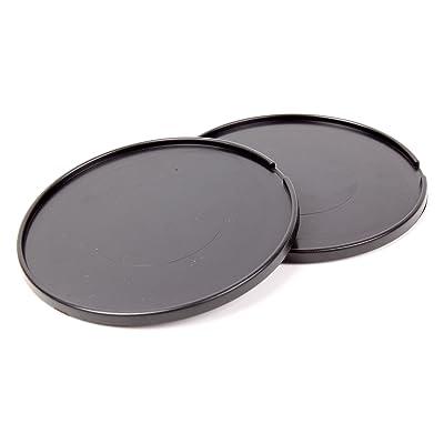 DURAGADGET Pack De 2 Discos Adhesivos Para El GPS TomTom Go 500 - Perfectos Para Mantener Su Soporte En El Salpicadero De Su Vehículo