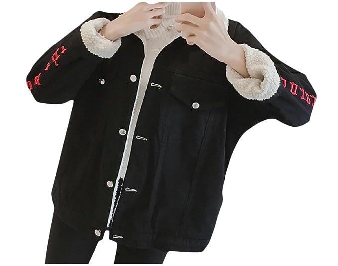 Winwinus Women's Custom Fit Thickened Lambswool Thin Jean