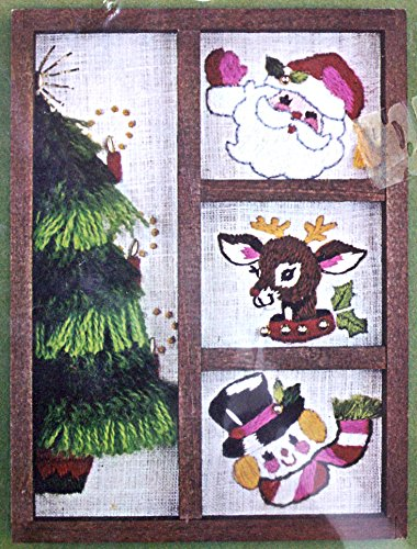 "Bucilla Decorator Shadow Box Hutch ""Santa & Friends"""