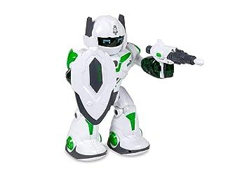 World Tech Auto >> Amazon Com Robot Smart Bot Auto Function Teaching Toys Games