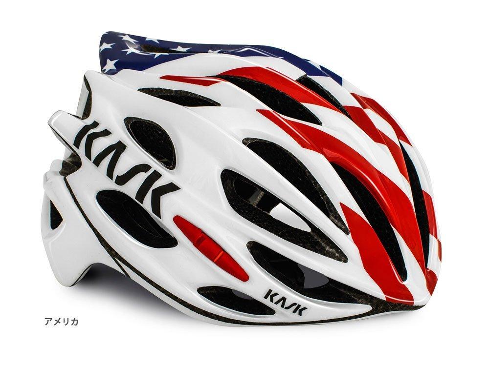 KASK(カスク) MOJITO <FLAG> ロードヘルメット アメリカ B01FRYAC9M Medium