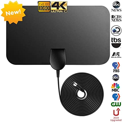 Amazon.com: TV Antenna Newest,NCVI Indoor Amplified Digital TV ... on