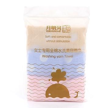 FRCOLOR Toallita de microfibra de belleza toallita de limpieza Premium Desmaquilladora de tocador y piel facial