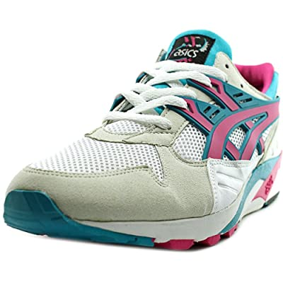 Asics Gel-Kayano Trainer Women Round Toe Synthetic White Sneakers