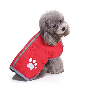 Ropa para Mascotas Gusspower Ropa de Abrigo Invierno Su/éter c/álido c/ómodo Chaqueta Deportiva Traje para Mascotas Gato Perro