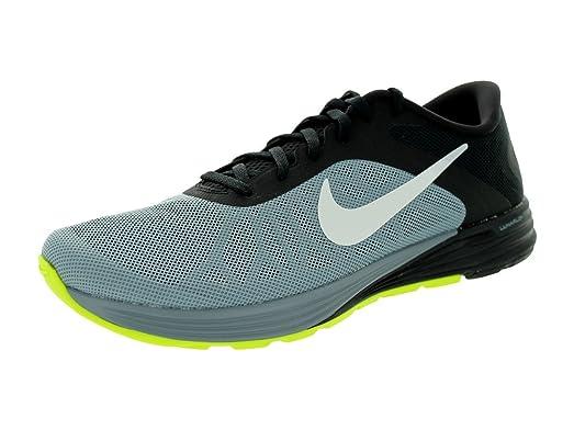 Men's Lunarlaunch Magnet Grey/White/Black Running Shoe 13 Men US