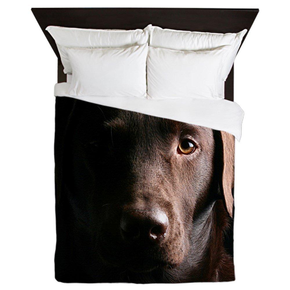 CafePress - Labrador Retriever - Queen Duvet Cover, Printed Comforter Cover, Unique Bedding, Microfiber
