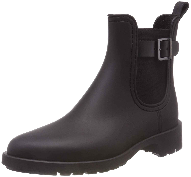 Schwarz(schwarz 990) Marc O& 039;Polo Damen Rubber Stiefel Gummistiefel