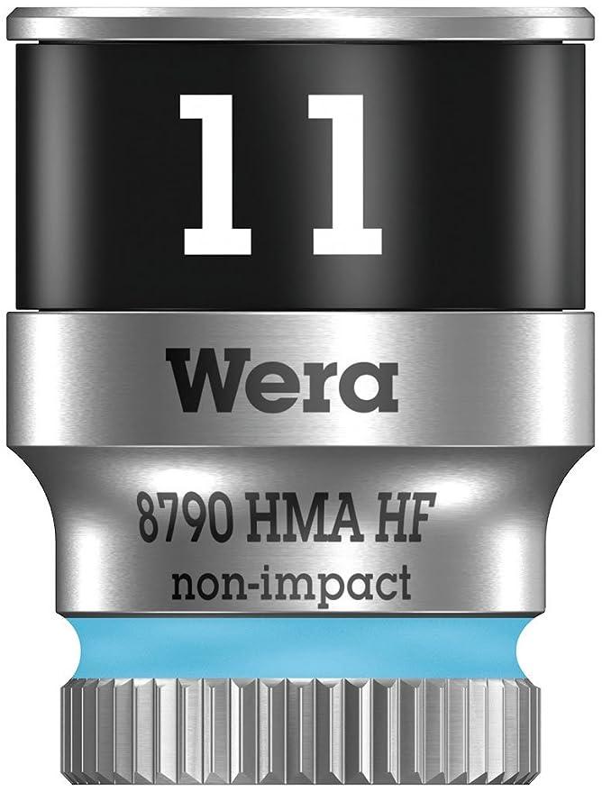 Azul 6.0 mm Wera 05004503001 llave de vaso 1//4