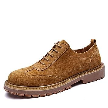 86a0ffebc7d Zapatos de Cuero para Hombres Moda Oxford Suela cómoda