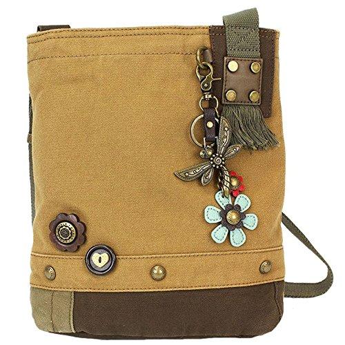 Chala Patch Fly Brown Handbag Dragon Crossbody q4Tw0EzF4x