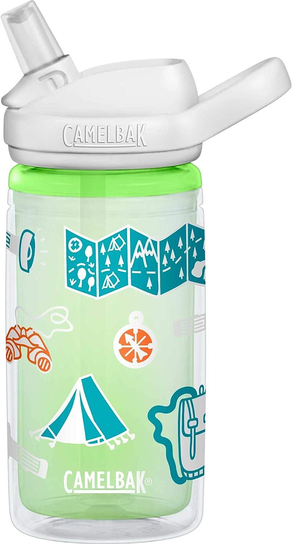 Camelbak Eddy Botellas para niños con diseño de mariposas, 0,4 litros, 14 onzas