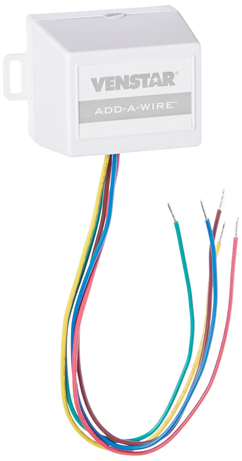 Venstar Acc0410 Add A Wire Accessory For All 24 Vac Thermostats 4 Basic Wiring Click Details Diagram With And To 5 Wires White Industrial Scientific