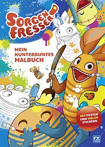 Gerd Hahns Sorgenfresser Mein Kunterbuntes Malbuch Amazon De