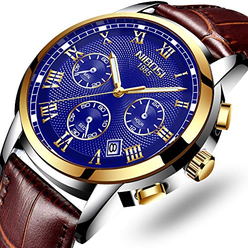 Mens Watches Waterproof Luxury Brand Chronograph Sports Watches Men Full Steel Quartz Business Casual Wrist Watch -