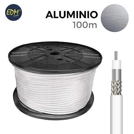 CABLE COAXIAL APANTALLADO ALUMINIO EDM