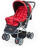 LuvLap StarShine Baby Stroller – Red
